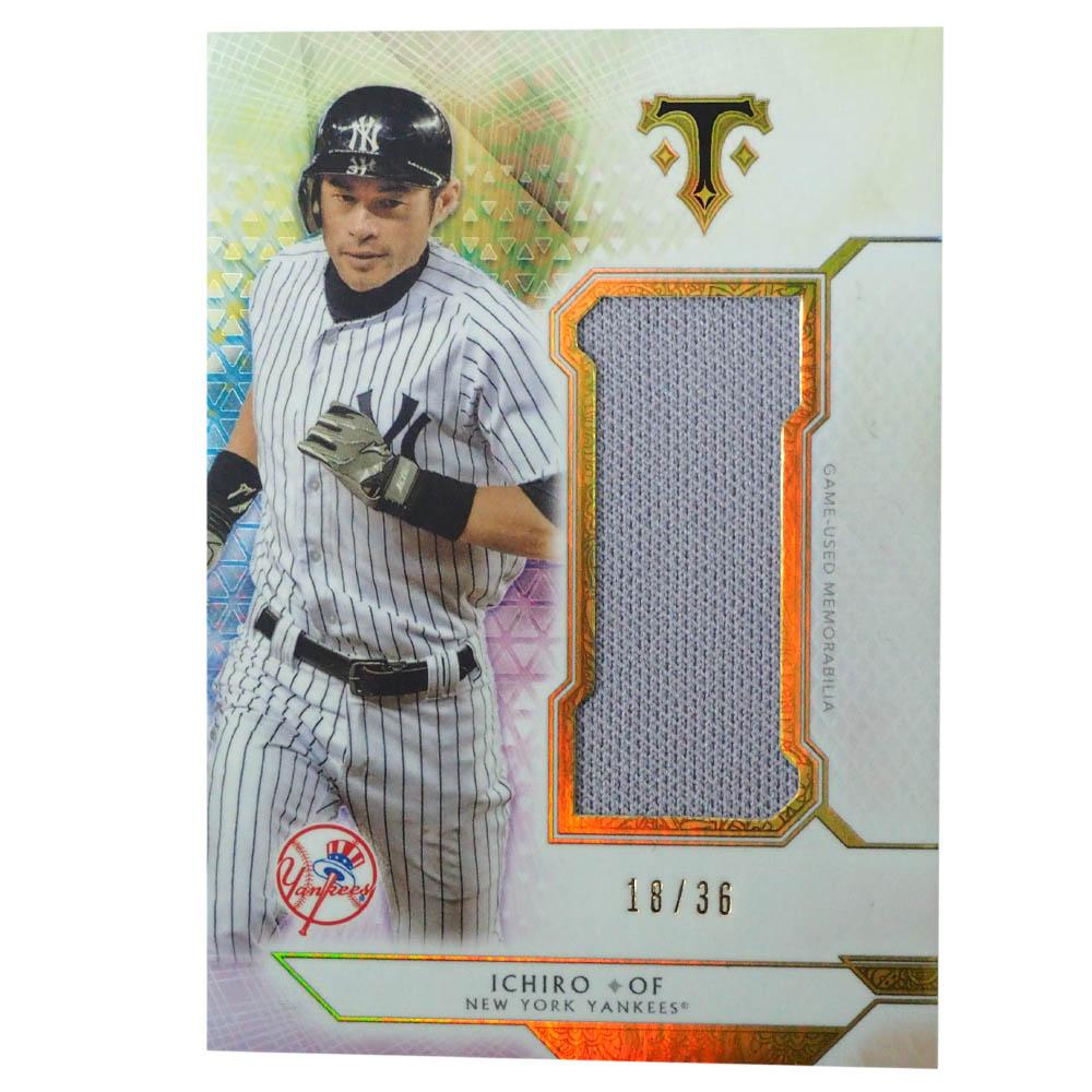 MLB イチロー ニューヨーク・ヤンキース トレーディングカード/スポーツカード 2018 Ichiro #SJR-I2 18/36 Topps