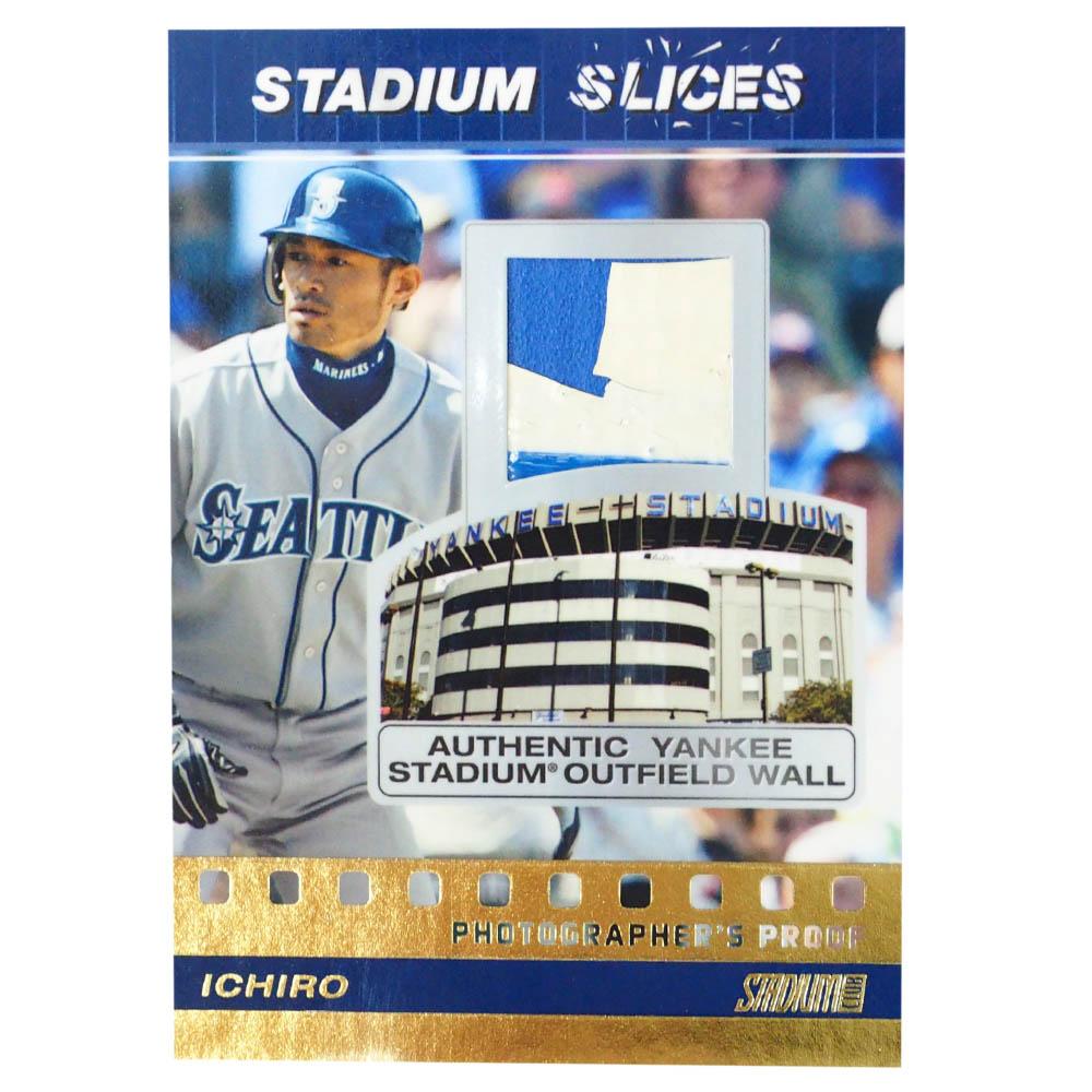 MLB イチロー ニューヨーク・ヤンキース トレーディングカード/スポーツカード 2008 Stadium Slices Ichiro SS-IS 19/50 Topps