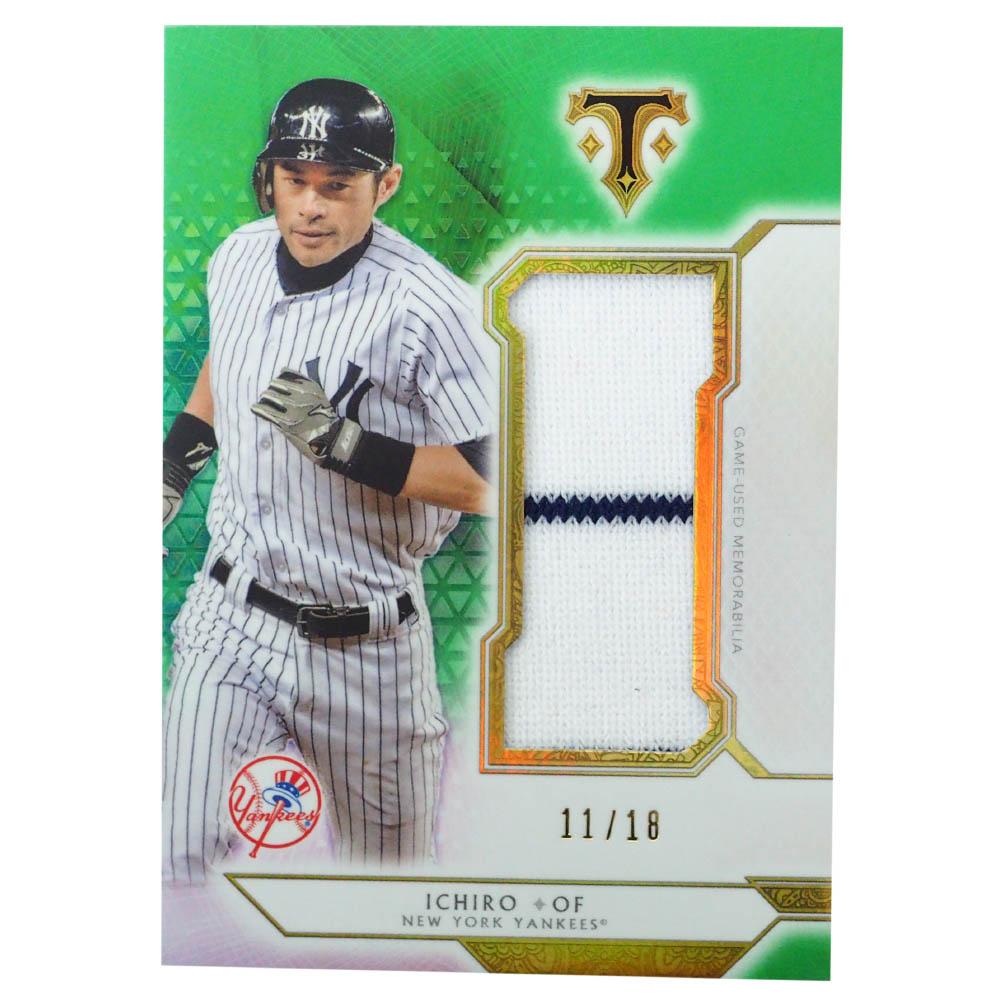 MLB イチロー ニューヨーク・ヤンキース トレーディングカード/スポーツカード 2018 Ichiro #SJR-I2 11/18 Topps