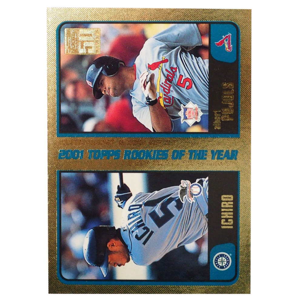 MLB トレーディングカード/スポーツカード 2001 Rookie Ichiro Pujols #T99 150/2001 Topps