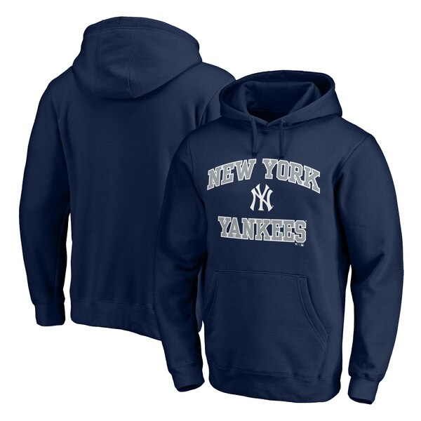 MLB ニューヨーク・ヤンキース パーカー/フーディー ハート & ソウル プルオーバー ネイビー