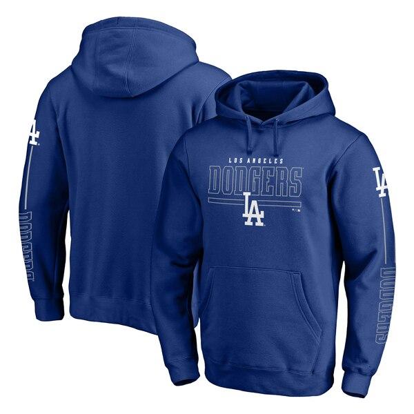 MLB ロサンゼルス・ドジャース パーカー/フーディー チーム フロント ライン プルオーバー ロイヤル
