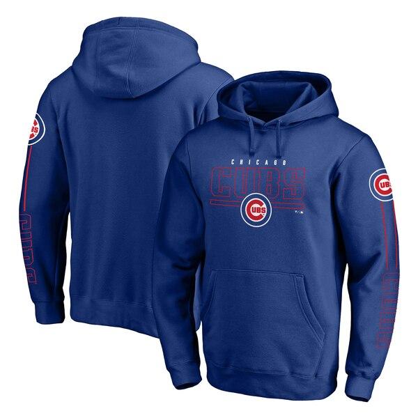 MLB シカゴ・カブス パーカー/フーディー チーム フロント ライン プルオーバー ロイヤル