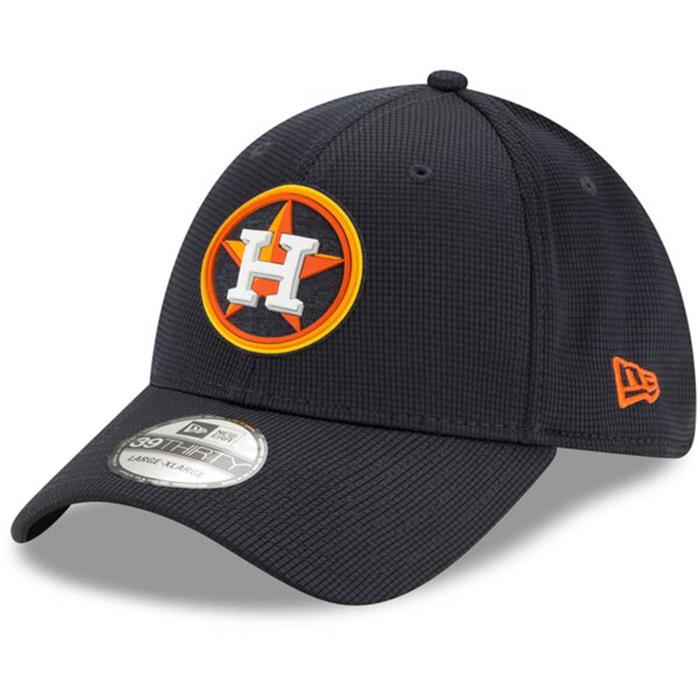 あす楽対応 2020年モデル 実物 MLBクラブハウスキャップ MLB ヒューストン アストロズ キャップ 帽子 2020 クラブハウス Flex 限定品 39THIRTY Clubhouse New ニューエラ Era Hat ネイビー