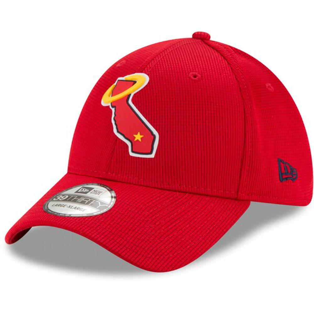あす楽対応 2020年モデル MLBクラブハウスキャップ MLB ロサンゼルス エンゼルス キャップ 帽子 2020 Clubhouse 39THIRTY レッド Era ランキングTOP5 New NEW ARRIVAL Flex ニューエラ クラブハウス Hat