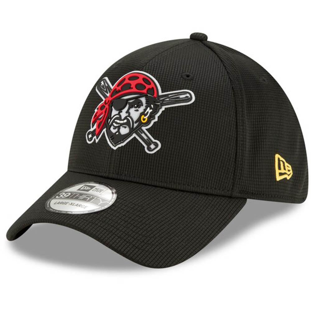あす楽対応 2020年モデル 人気上昇中 MLBクラブハウスキャップ MLB ピッツバーグ パイレーツ キャップ 帽子 2020 39THIRTY 好評 Flex Era New ニューエラ Hat クラブハウス ブラック Clubhouse