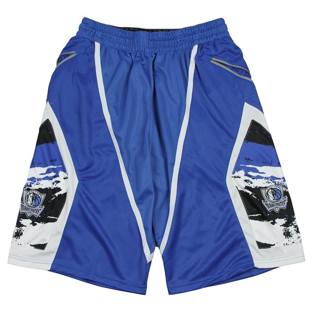 NBA ダラス・マーベリックス ショートパンツ/ショーツ Paint Splash Basketball Shorts Zipway ブルー