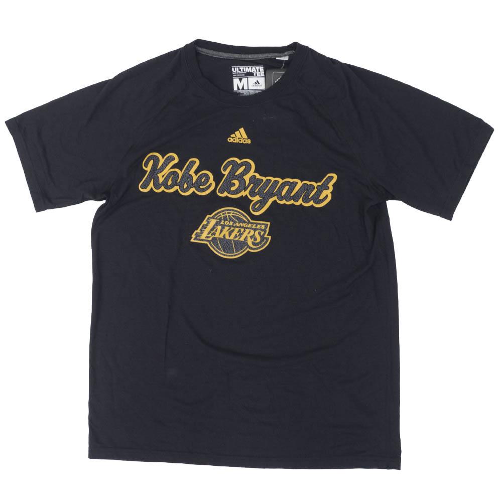 NBA コービー・ブライアント ロサンゼルス・レイカーズ Tシャツ Kobe Mamba Pattern T-Shirt アディダス/Adidas ブラック