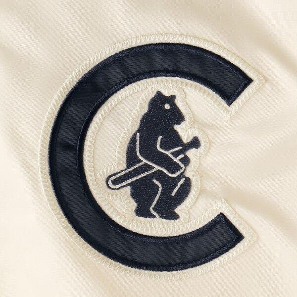 MLB シカゴ・カブス ジャケット アウター ザ キャプテン 2 フルジップ STARTER クリームtrhsQd
