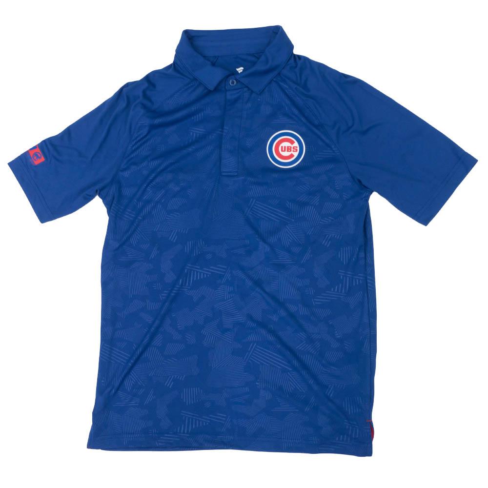 MLB シカゴ・カブス アイコニック ディフェンダー ポロシャツ ロイヤル