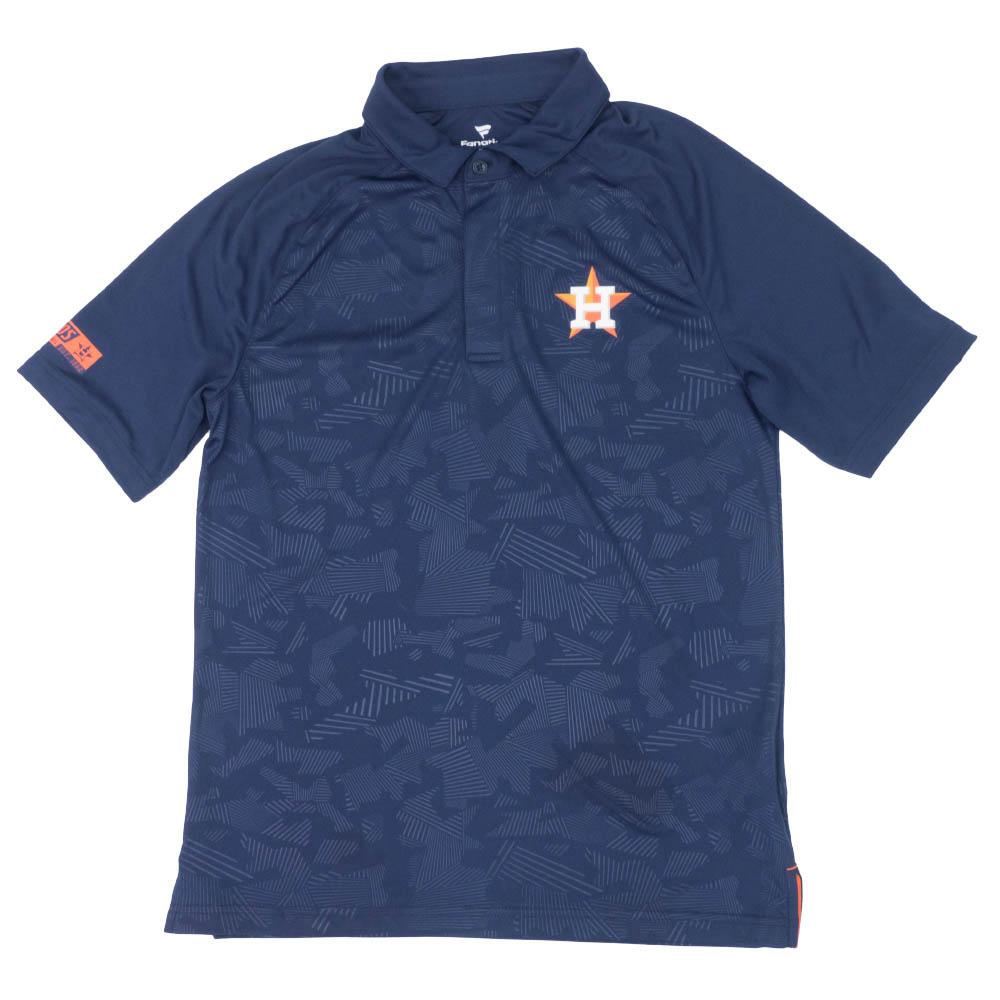 MLB ヒューストン・アストロズ アイコニック ディフェンダー ポロシャツ ネイビー