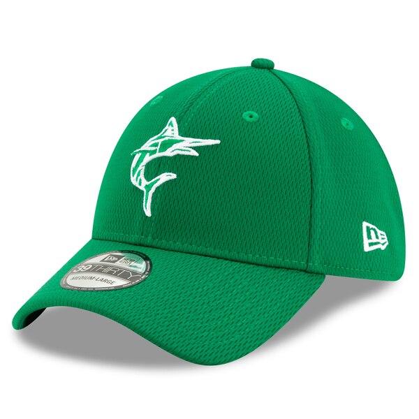 MLB マイアミ・マーリンズ キャップ/帽子 2020 セント・パトリックス・デー 39THIRTY ニューエラ/New Era ケリーグリーン