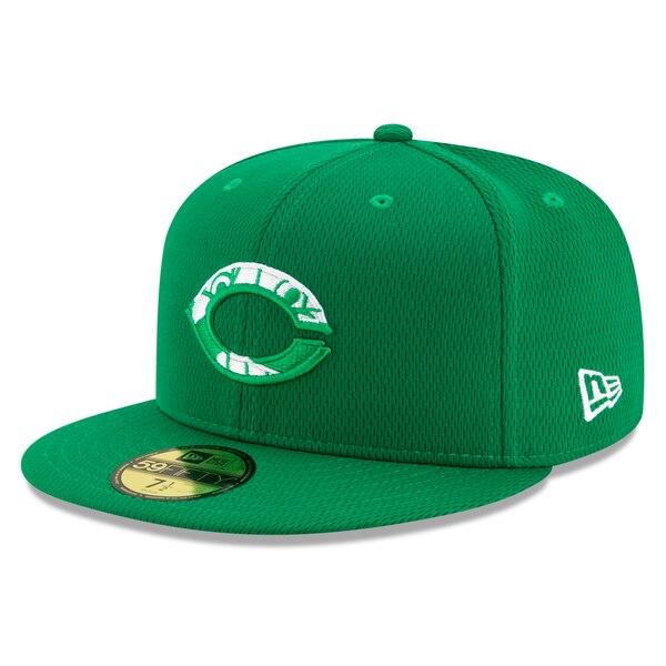 MLB シンシナティ・レッズ キャップ/帽子 2020 セント・パトリックス・デー オンフィールド 59FIFTY ニューエラ/New Era ケリーグリーン