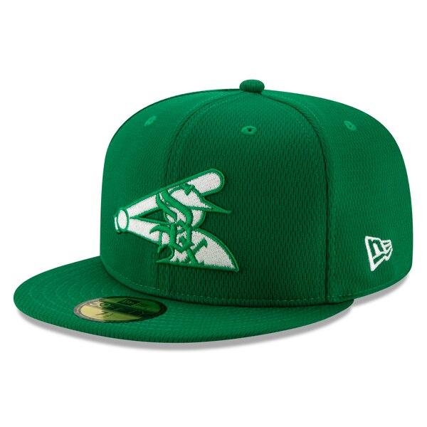 MLB ホワイトソックス キャップ/帽子 2020 セント・パトリックス・デー オンフィールド 59FIFTY ニューエラ/New Era ケリーグリーン