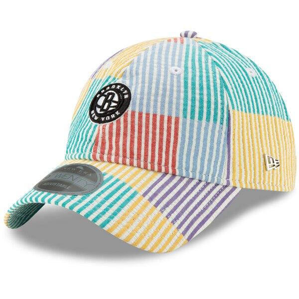 NBA ブルックリン・ネッツ キャップ/帽子 Multiseer 9TWENTY Adjustable Hat ニューエラ/New Era