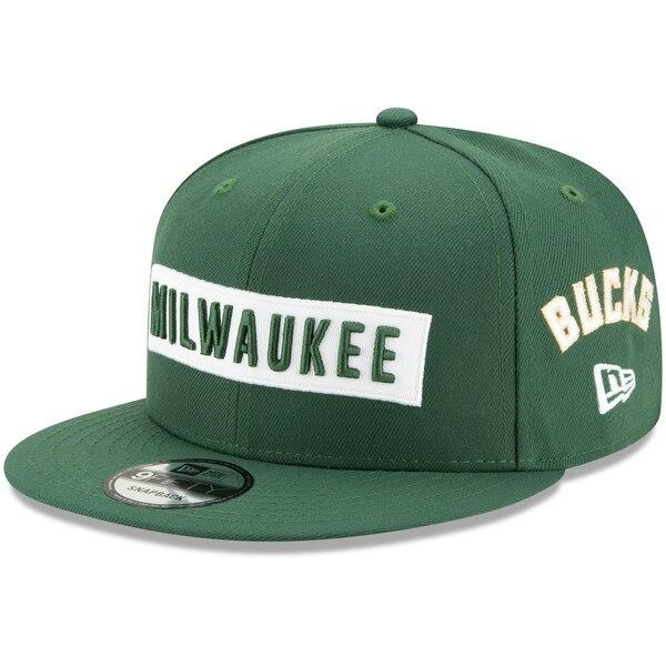 NBA ミルウォーキー・バックス キャップ/帽子 Multi 9FIFTY Adjustable Snapback Hat ニューエラ/New Era グリーン