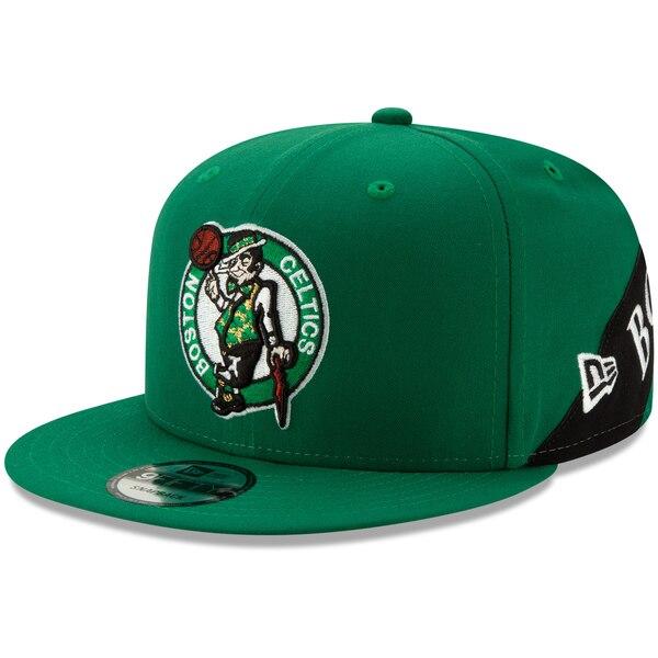 NBA ボストン・セルティックス キャップ/帽子 Team Bulletin 9FIFTY Adjustable Snapback Hat ニューエラ/New Era ケリーグリーン
