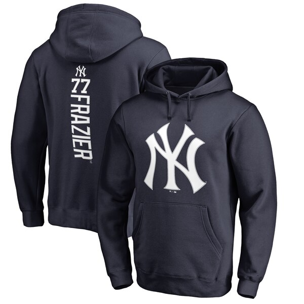 MLB クリント・フレイジャー ニューヨーク・ヤンキース パーカー/フーディー バッカー プルオーバー ネイビー