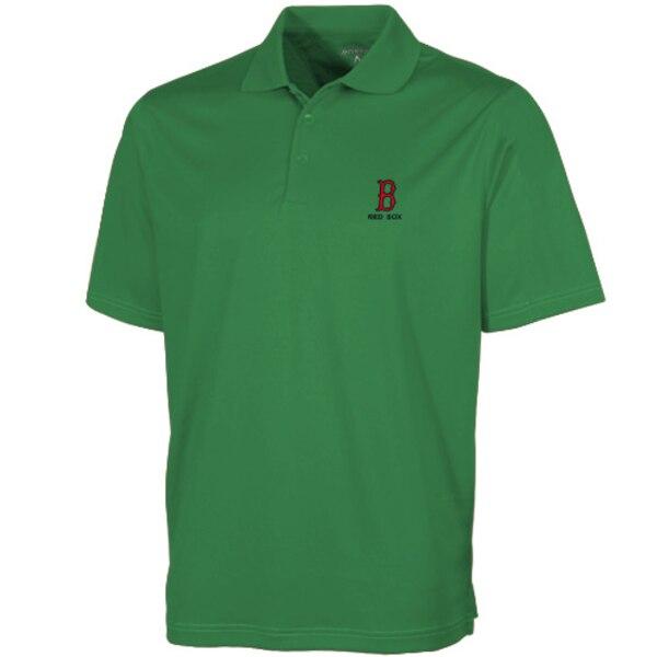 MLB ボストン・レッドソックス デザート ドライ エクストラライト ポロシャツ Antigua グリーン