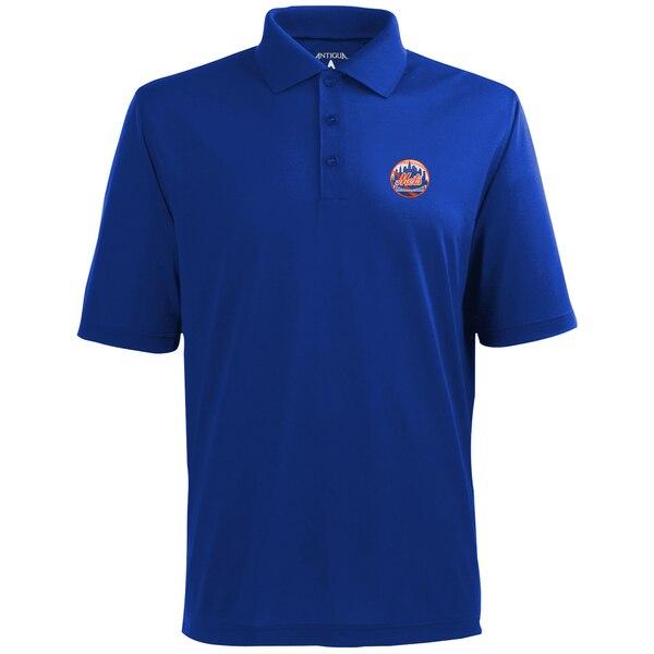 MLB ニューヨーク・メッツ デザート ドライ エクストラライト ポロシャツ Antigua ロイヤルブルー
