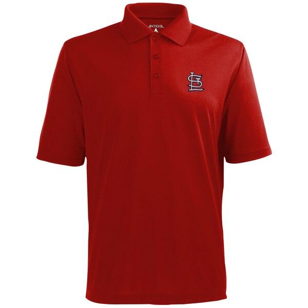 MLB セントルイス・カージナルス デザート ドライ エクストラライト ポロシャツ Antigua レッド