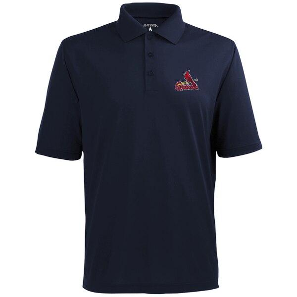 MLB セントルイス・カージナルス デザート ドライ エクストラライト ポロシャツ Antigua ネイビーブルー