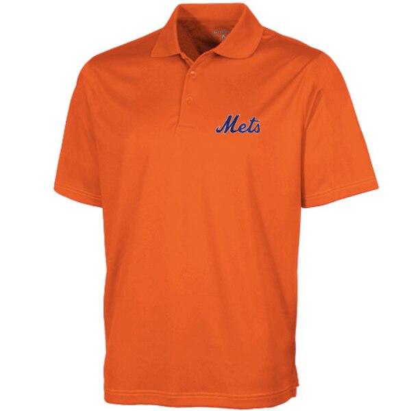 MLB ニューヨーク・メッツ デザート ドライ エクストラライト ポロシャツ Antigua オレンジ
