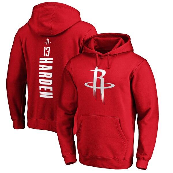 NBA ジェームズ・ハーデン ヒューストン・ロケッツ パーカー/フーディー プレーメイカー ネーム & ナンバー プルオーバー レッド