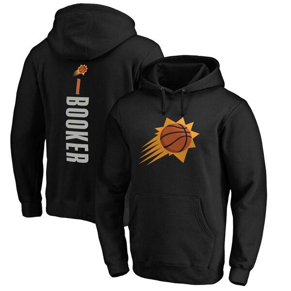 NBA デビン・ブッカー フェニックス・サンズ パーカー/フーディー プレーメイカー ネーム & ナンバー プルオーバー ブラック