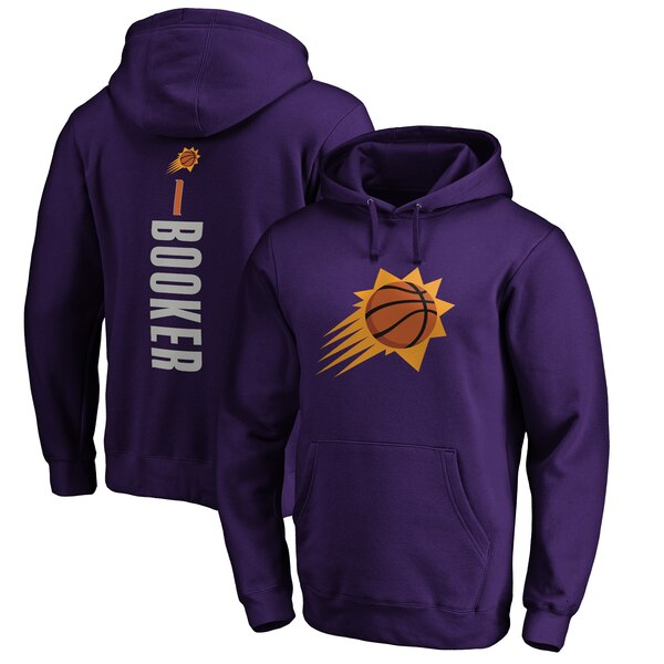 NBA デビン・ブッカー フェニックス・サンズ パーカー/フーディー プレーメイカー ネーム & ナンバー プルオーバー パープル