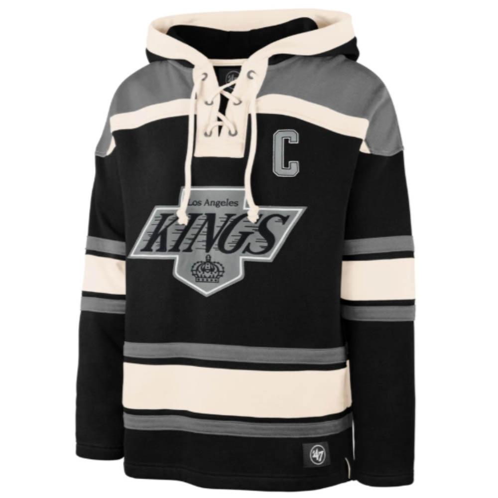 NHL ウェイン・グレツキー キングス パーカー/フーディー Alum Player Lacer Hoody 47 Brand ブラック