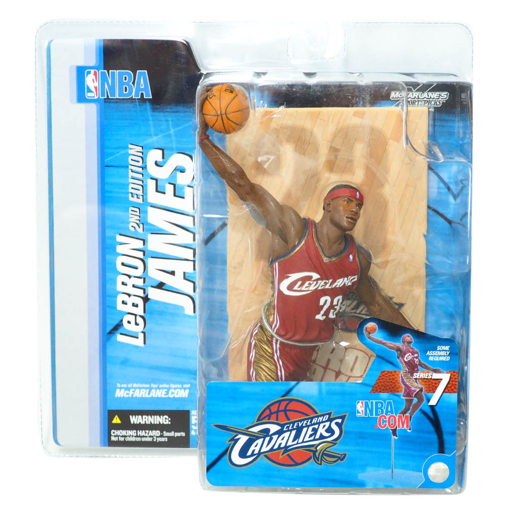 NBA レブロン・ジェームズ クリーブランド・キャバリアーズ フィギュア シリーズ 7 フィギュア McFarlane