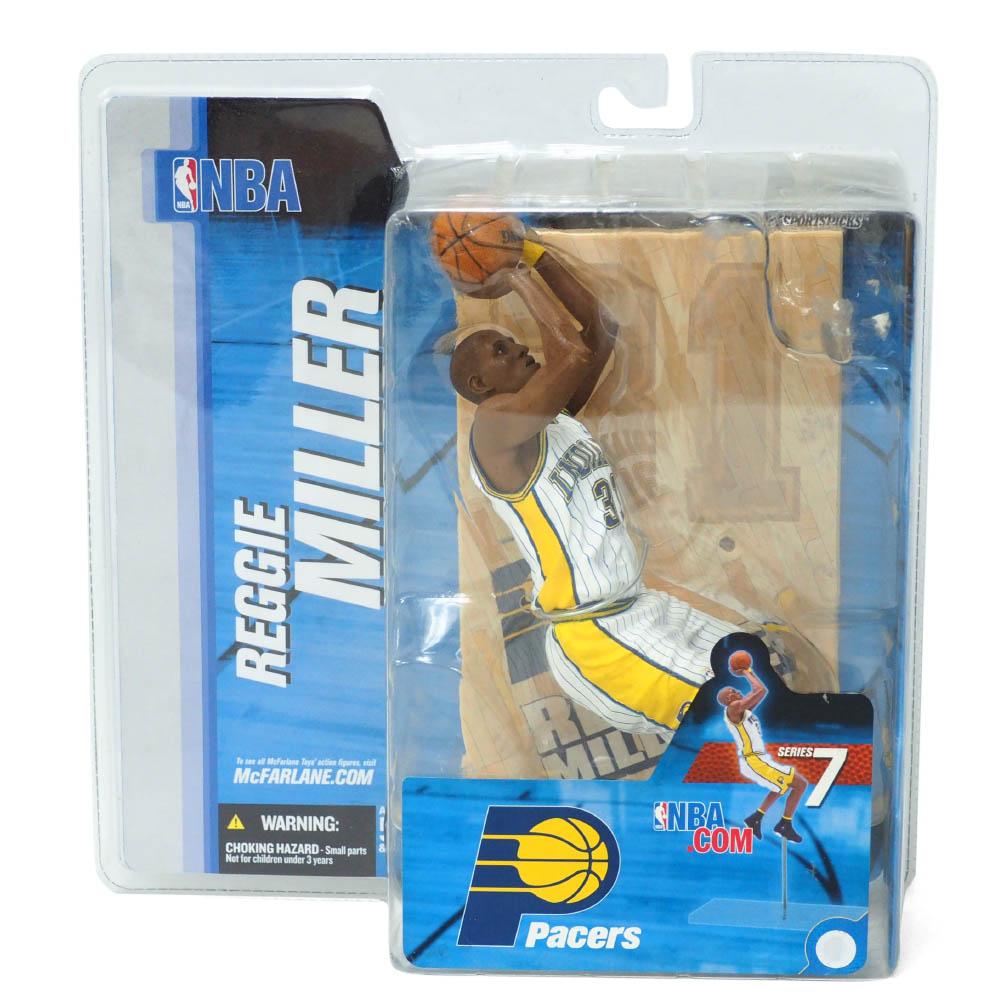 NBA レジー・ミラー インディアナ・ペイサーズ フィギュア シリーズ 7 フィギュア McFarlane