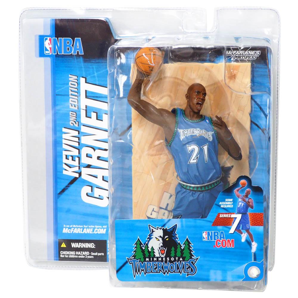 NBA ケビン・ガーネット ミネソタ・ティンバーウルブズ フィギュア シリーズ 7 フィギュア McFarlane