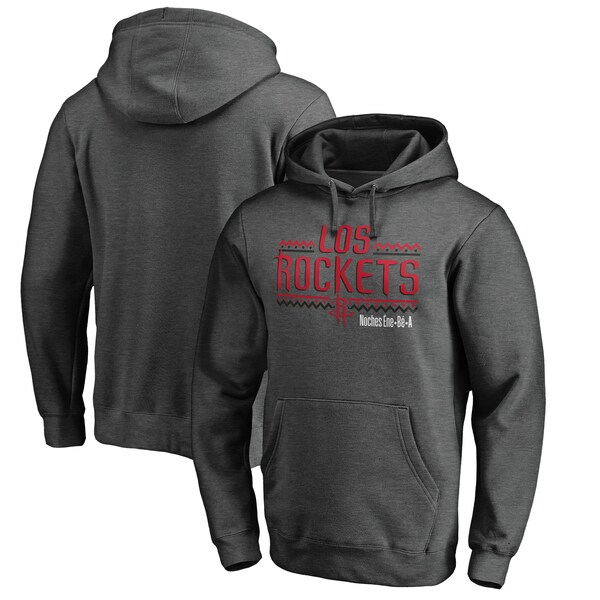 NBA ヒューストン・ロケッツ パーカー/フーディー Noches Ene-Be-A Pullover Hoodie ヘザーグレー