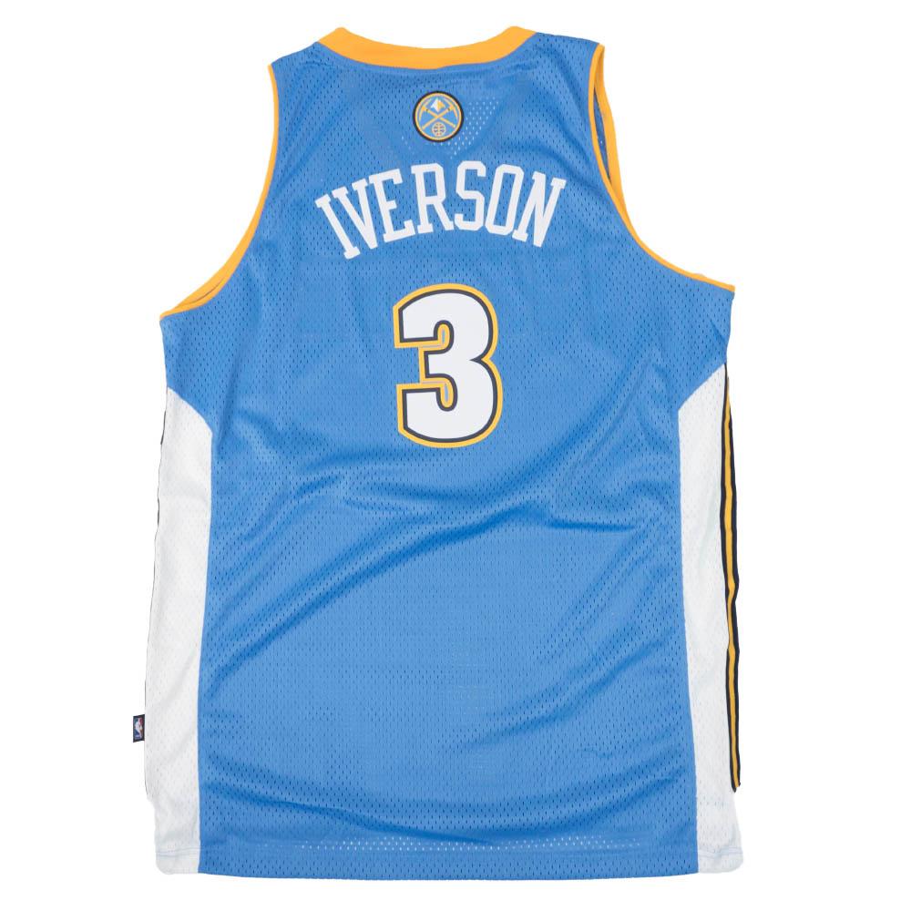 NBA アレン・アイバーソン デンバー・ナゲッツ ユニフォーム/ジャージ Swingman Jersey アディダス/Adidas ロード