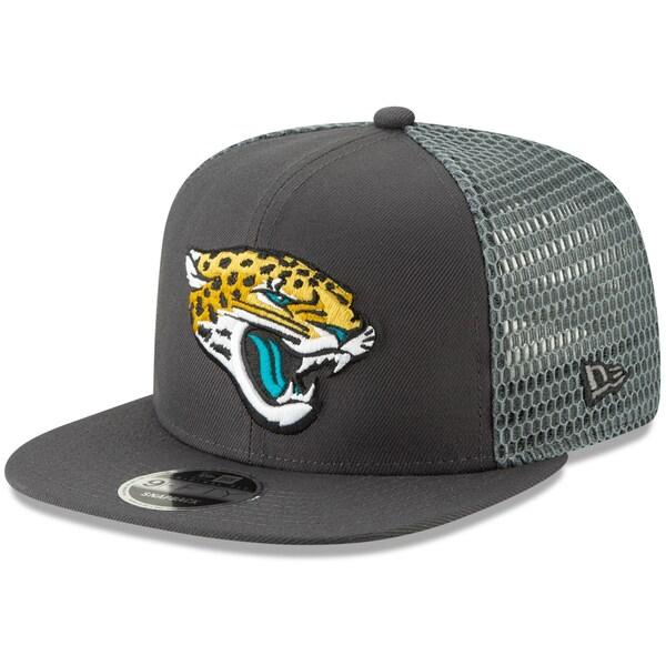 NFL ジャガーズ キャップ/帽子 メッシュ フレッシュ 9FIFTY アジャスタブル スナップバック ニューエラ/New Era グラファイト