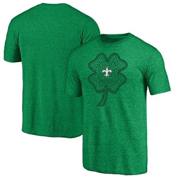 NFL セインツ Tシャツ セント・パトリックス・デー セルティック チャーム トライブレンド グリーン