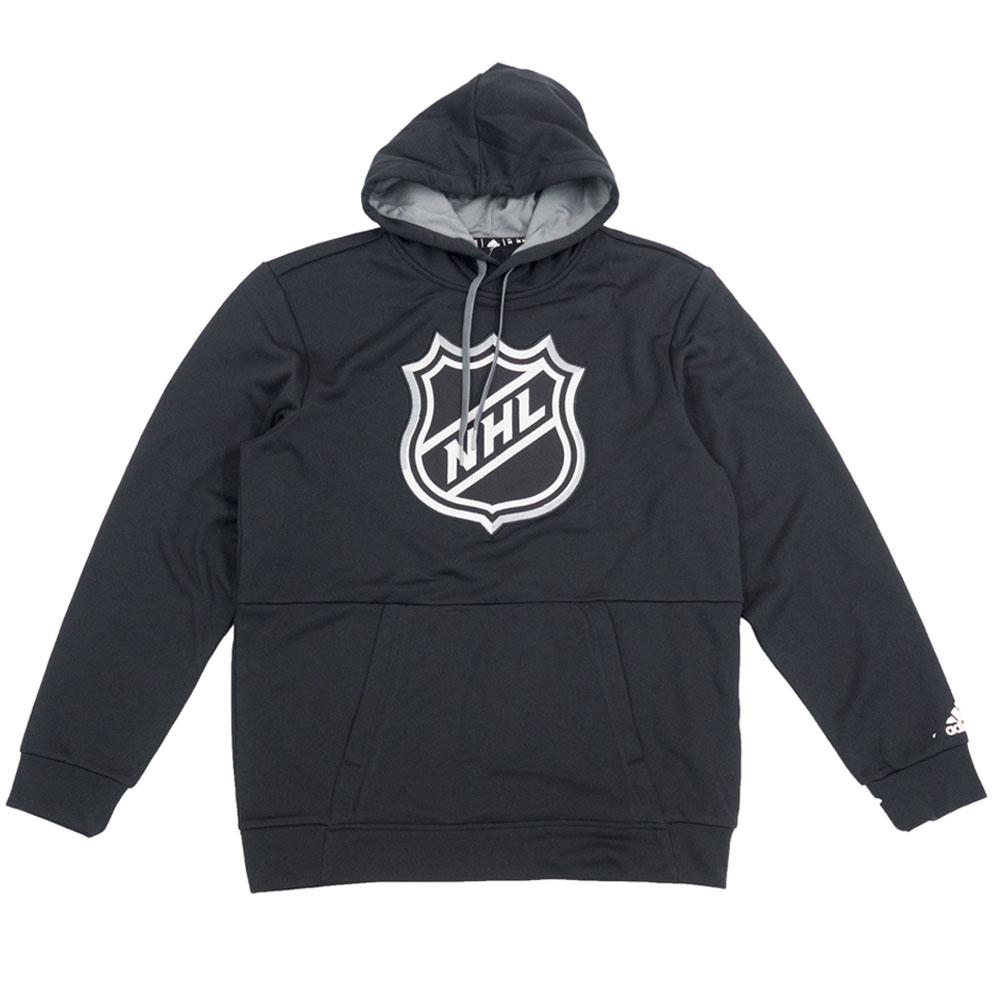 【リニューアル記念メガセール】NHL パーカー/フーディー Clima Warm Pullover Hoodie アディダス/Adidas ブラック