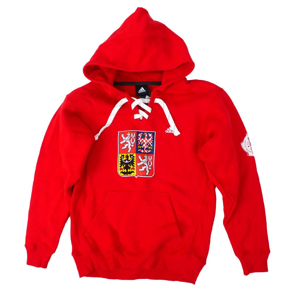 WC Hockey Czech Republic パーカー/フーディー 2016 World Cup of Hockey Pullover Hoodie チェコ アディダス/Adidas レッド