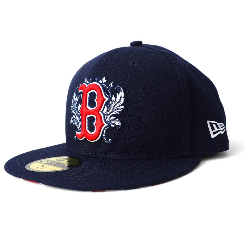 MLB ボストン・レッドソックス キャップ/帽子 2019 ロンドンシリーズ 59FIFTY ニューエラ/New Era ゲーム