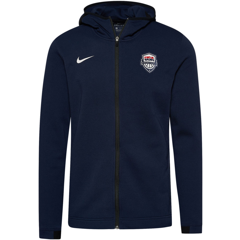 USA BB アメリカ代表 パーカー/フーディー Showtime Hoodie ナイキ/Nike ネイビー AT4961-451