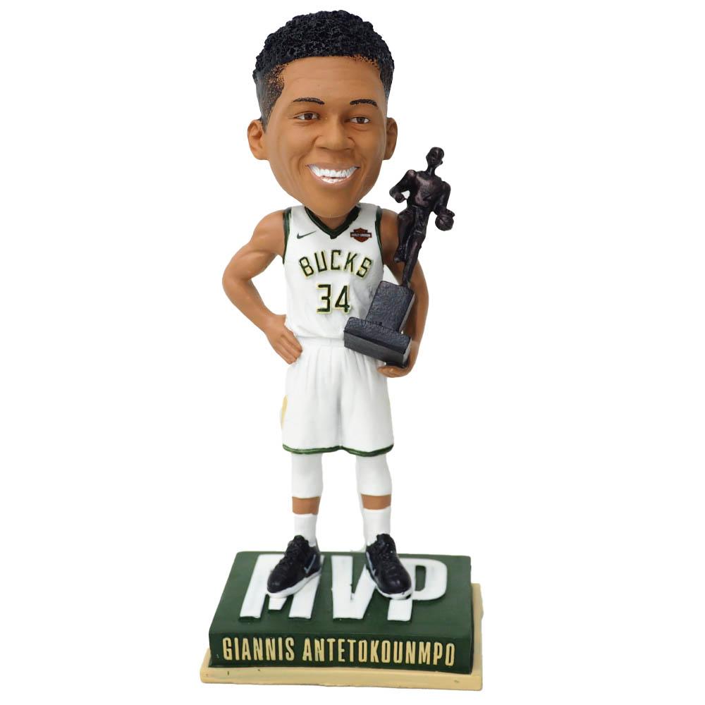NBA ヤニス・アデトクンボ ミルウォーキー・バックス フィギュア 2019 Giannis Antetokounmpo MVP Bobblehead SGA