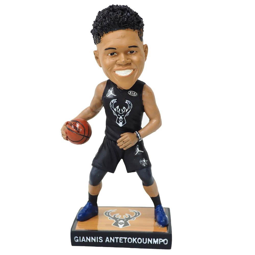 NBA ヤニス・アデトクンボ ミルウォーキー・バックス フィギュア 2018 Giannis Antetokounmpo Members Exclusive Bobblehead SGA