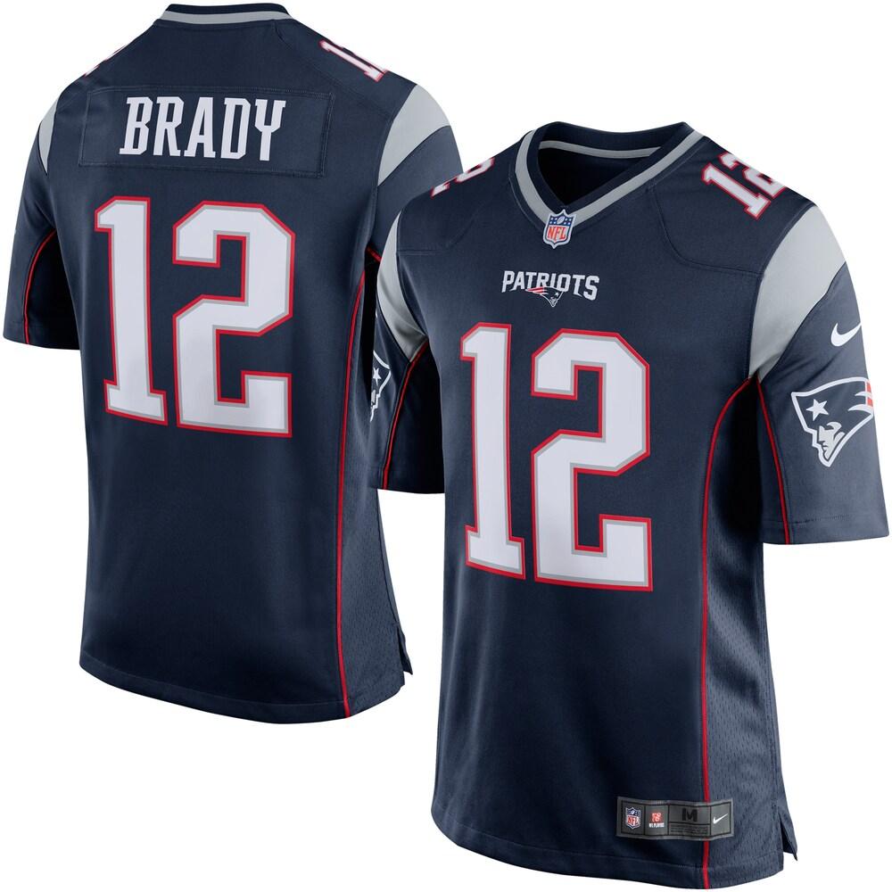 NFL トム・ブレイディ ペイトリオッツ ユニフォーム/ジャージ Game Jersey ナイキ/Nike ネイビー
