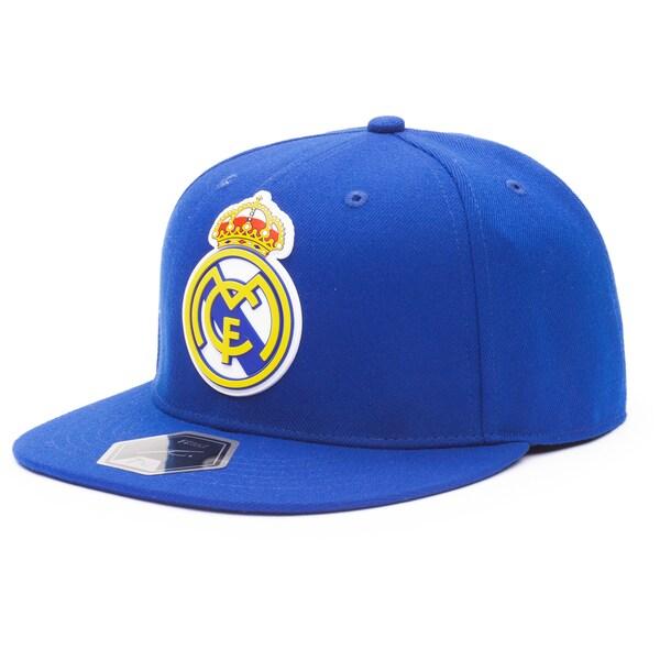 レアル・マドリード キャップ/帽子 SOCCER Cult Fitted Hat Fi Collection ブルー