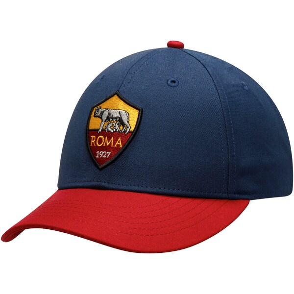 ASローマ キャップ/帽子 SOCCER Core Adjustable Hat Fi Collection Navy/Red