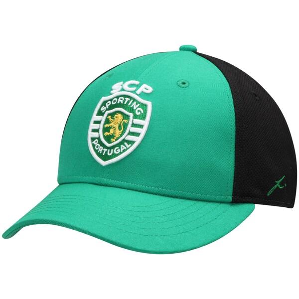 <title>予約販売 日本入手困難 海外サッカークラブCAP スポルティングCP キャップ 帽子 SOCCER Sporting Lisbon Stretch Fit Hat Fi Collection グリーン</title>