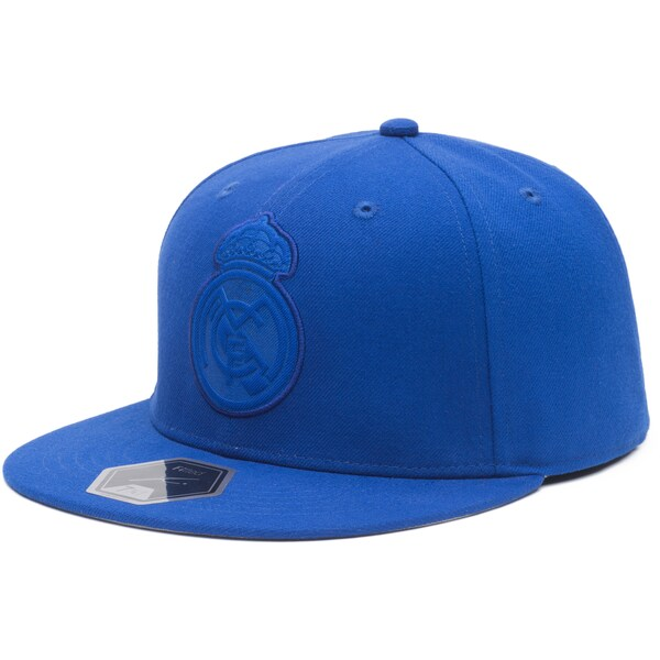 レアル・マドリード キャップ/帽子 SOCCER Box Seat Fitted Hat Fi Collection ブルー