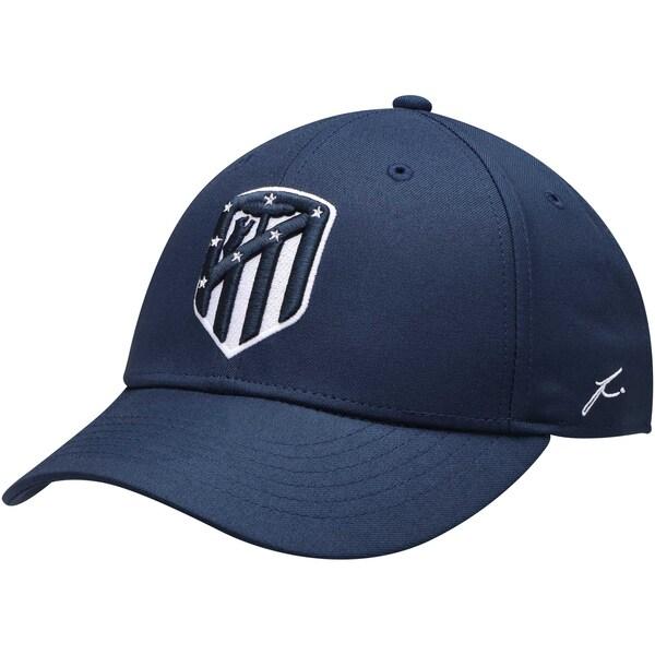 <title>日本入手困難 海外サッカークラブCAP アトレティコ マドリード キャップ 帽子 SOCCER Adjustable Hat 買収 Fi Collection ネイビー</title>